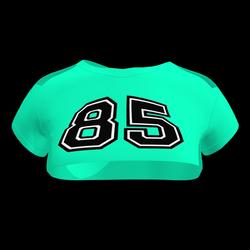 Sexy 85 Crop Top (Teal)