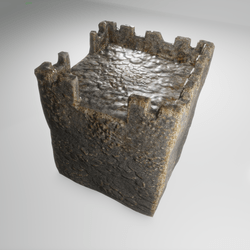 Basic Stone Tower corner-connection