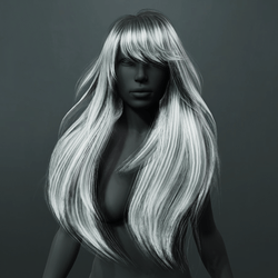Amber Hair - Gray