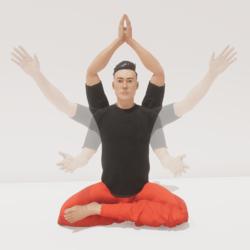 meditation 9 infinity male
