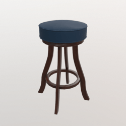 Barstool #1 (Wooden/Leather)