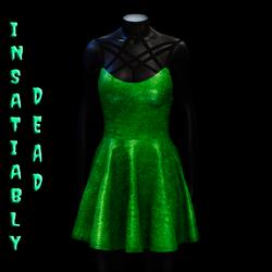 Magica Skater Dress [GREEN]