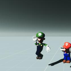 Dancing Luigi - Animated Character