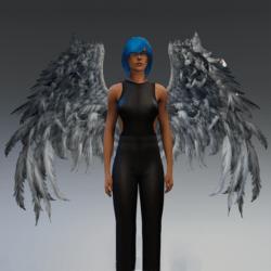 TKA Wings woman