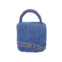 Denim Handbag