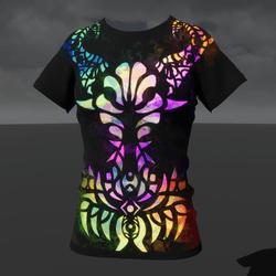 Empowered Demon (F) T-Shirt (Emissive Animated)