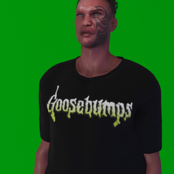 Goosebumps Male T-Shirt (M)