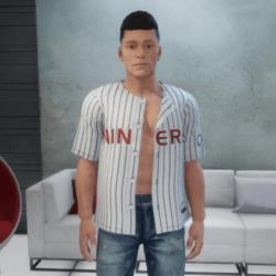 Star Trek Deep Space Nine Baseball Jersey Open