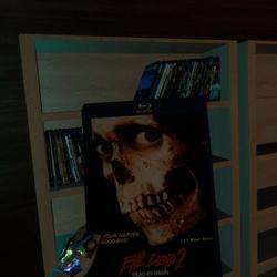 evil dead 2 bluray case