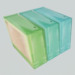 Computer case - green colors
