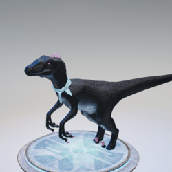 blue raptor scarf