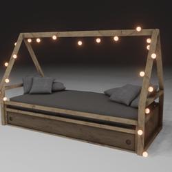 Allusive Bed