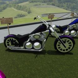 Purple Bike Attachment