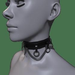 Goth Collar