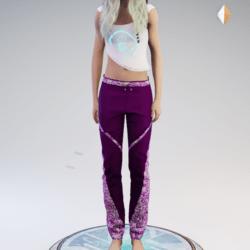 Fran pants violet