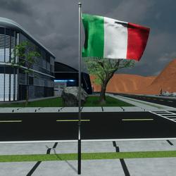 TKA Animate Flag Italy