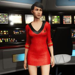 AV2 - Uhura Star Trek