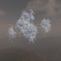 Cloud Cluster White