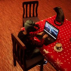 Typing (Laptop)