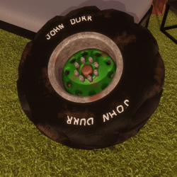 Tractor Tire (Dynamic)