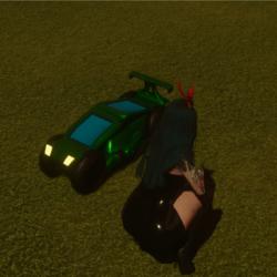 Transformer Emote 2 Car Donuts