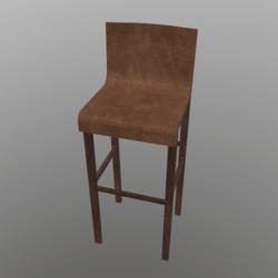 Barstool #4 (Wooden)