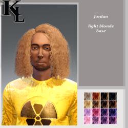Jordan -light blonde base-male