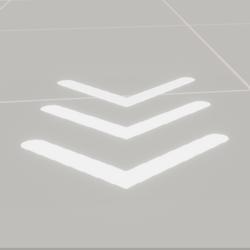 Arrow White Animation Billboard Flipbook (Animated)