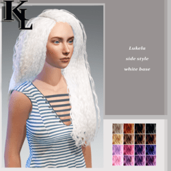 lukela-side style-white base