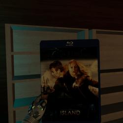the island bluray case