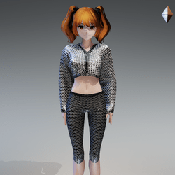 Disco Outfit Only for MD Avatar by ACPixl