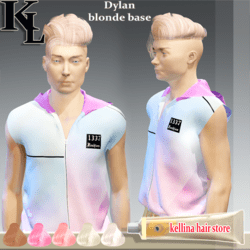 dilan base blonde -retexture