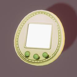 Tamagotchi 5u lime