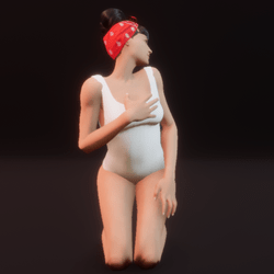 model pose sit 06 (static)