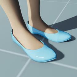Stylish Classic Hig Heel Shoes TEAL