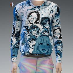 Blue Tint Ahegao Sweatshirt