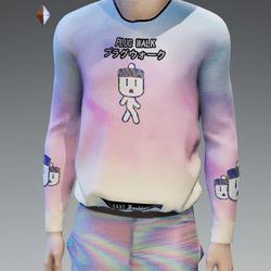 Pastel Plug Walk Sweatshirt