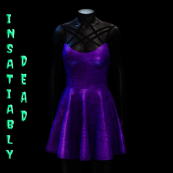 Magica Skater Dress [PURPLE]
