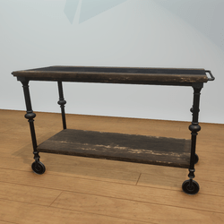 Reclaimed Wood Small Console