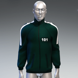 """""""Squid game"""" style sweat jacket male 101"""