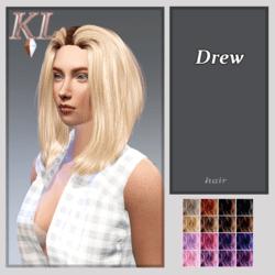 Drew -hair