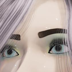 Celeste Natural Eyes (Very light Blue eyes) - Alina Avatars