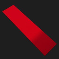 Red Carpet ( 50M ×1M ×10cm ) - Collision Mesh
