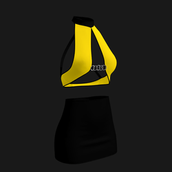 Leera Clubbing Outfit (Yellow/Black)
