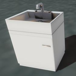 Washbasin (interactive)