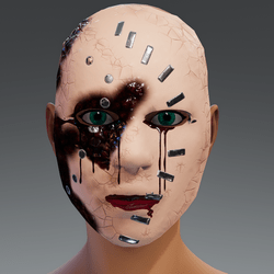Facie Halloween mask-free