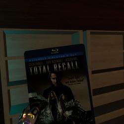 total recall bluray case