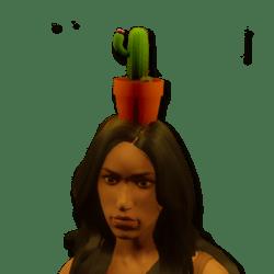 cactus pot female