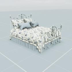Antique Bed 4.3
