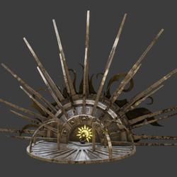 Throne of the sun